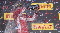 Raikkonen victory keeps Hamilton waiting for fifth F1 title