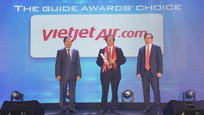 "Vietjet commended as ""Pioneering Airline"" at The Guide Awards 2018"