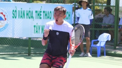 Tennis: Nam earns promising start at Vietnam F5 Futures