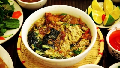 Crab soup – A pride of Hai Phong people