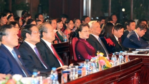 NA Chairwoman attends ceremony to mark Vietnam Law Day
