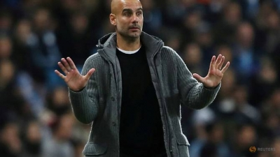 Manchester derby will not define City's season, says Guardiola
