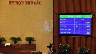 National Assembly adopts resolution adjusting medium-term public investment plan