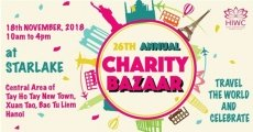 Charity bazaar to support Vietnam's underprivileged women and children