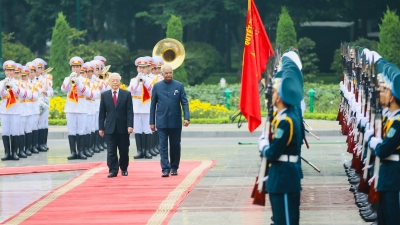 Fostering Vietnam-India comprehensive strategic partnership