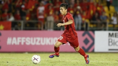 Vietnamese player in top five after semi-final first leg