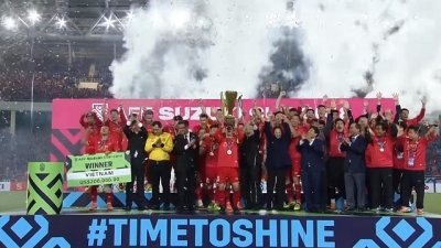 Vietnam win second AFF Cup trophy