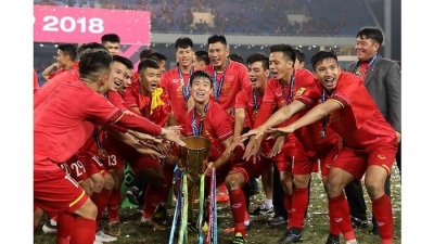 Five Vietnamese players named in AFF Cup Team of the Tournament