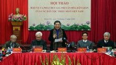 Preservation of ethnic minorities' culture an urgent task: workshop