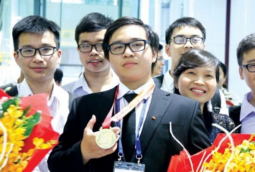The year 2018 sees Vietnamese students earn gold medals at International Olympiads
