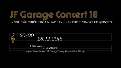 December 24-30: JF Garage Concert 18 with The Flying Clef Quintet in Hanoi