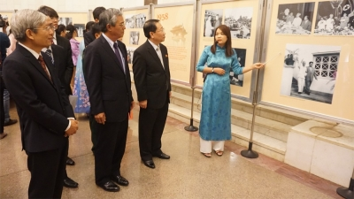 Exhibition marks 60th anniversary of President Kim II-Sung's visit to Vietnam