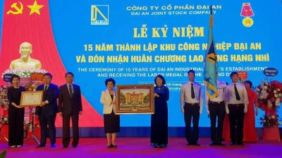 Dai An Industrial Park marks 15th founding anniversary