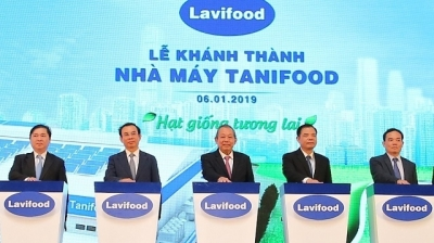 US$76.6 million veggie processing plant inaugurated in Tay Ninh