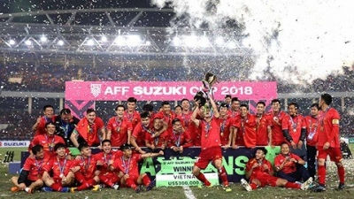 FIFA highlights Vietnam's 18-match unbeaten run