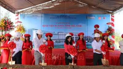 Work starts on 700-bed general hospital in Tra Vinh province