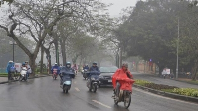 Hanoi temperatures drop to 15C as cold air hits northern Vietnam