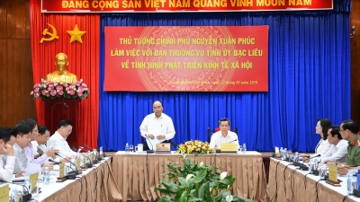 PM urges Bac Lieu to become tourism centre of Mekong Delta