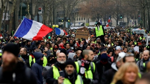 Protest wave risks putting Europe in long-term political turmoil