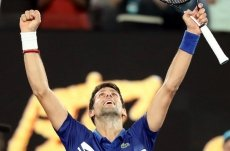 Djokovic clobbers qualifier Krueger to reach second round