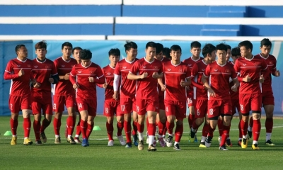 Vietnam start training, confident towards Japan clash