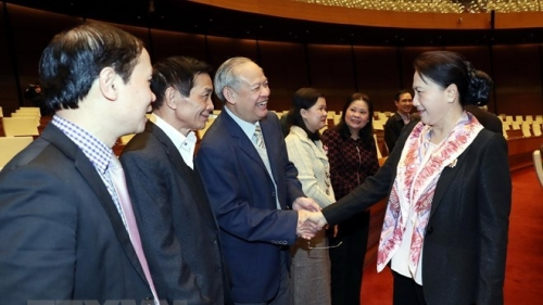 NA Chairwoman receives former NA leaders and deputies