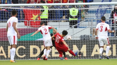 Vietnamese striker tops best goal poll for Asian Cup's Round of 16