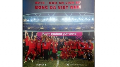 Photo book captures Vietnamese football's success in 2018