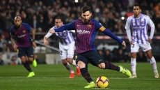 La Liga: Messi saves Barca from Valladolid