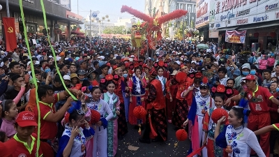 Year of Pig's first full-moon day celebrated in Binh Duong province