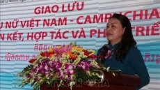 Vietnamese, Cambodian women hold exchange on 40th anniversary of victory over genocidal regime