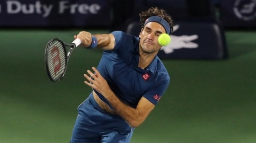 Federer begins hunt for title number 100 in Dubai
