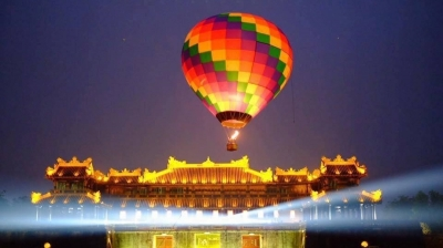 Hue International Hot Air Balloon Festival to open in April