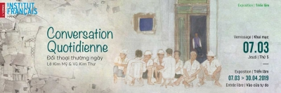 "March 4 - 10: Exhibition ""Daily Conversation"" in Hanoi"