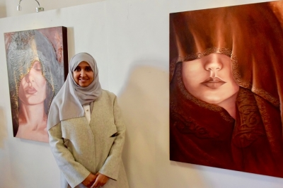 Feature: Kuwaiti artists celebrate Int'l Women's Day with art exhibition