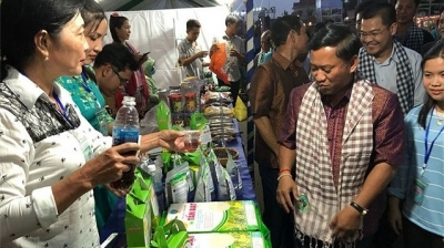 Vietnamese enterprises join annual trade fair in Cambodia
