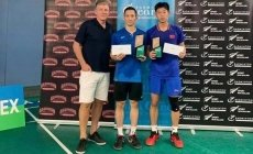 Vietnamese player wins badminton tournament in New Zealand