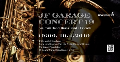 April 8-14: JF Garage Concert 19 with Hanoi Brass Band & Friends