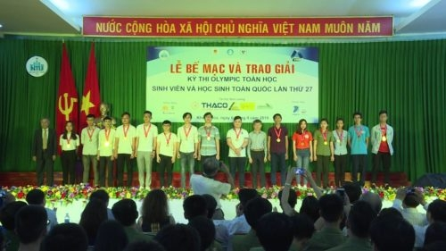 National Student Mathematical Olympiad wraps up