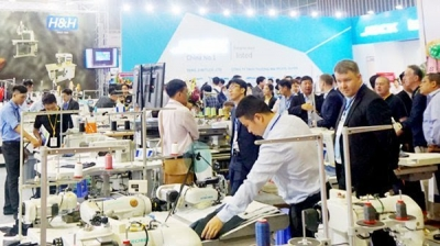 International garment-textile expo opens