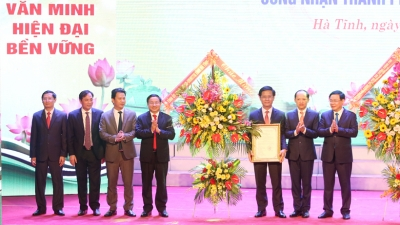 Ha Tinh recognised as second-class city