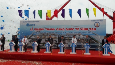 Binh Thuan puts VND2.3 trillion international port into operation