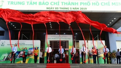 Vietnam's first municipal-level media centre inaugurated in HCM City