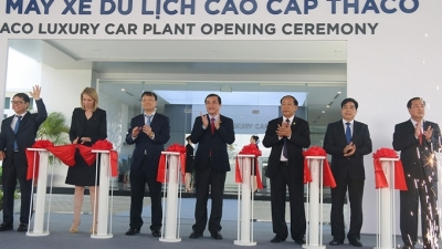 Luxury car plant inaugurated in Quang Nam