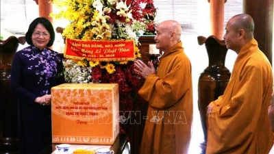Vice President extends greetings on Buddha's birthday