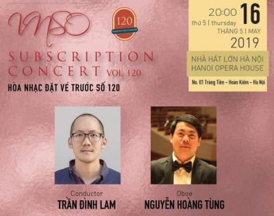 May 13-19: Subscription Concert Vol. 120 in Hanoi