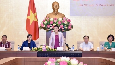 NA Chairwoman meets with representatives from residential areas in Hanoi