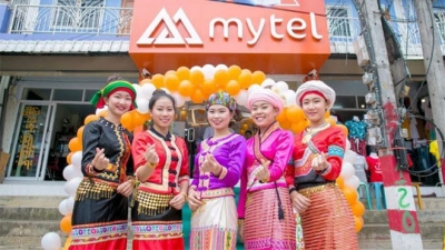 Mytel becomes third biggest telecoms operator in Myanmar
