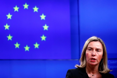 EU calls for restraint in Iran