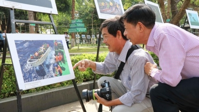 Photo exhibition boasts beauty of north central region's land and people